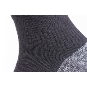 Sealskinz Soft Touch Ankle Length Socks Black/Grey/White